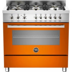 Bertazzoni PRO90-6-HYB-S-ART Professional 90cm Dual Fuel Range Cooker With 6 Burners And A Dual Ener