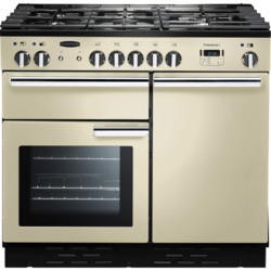 Rangemaster PROP100NGFCRC 111790 Professional Plus 100cm Natural Gas Range Cooker Cream