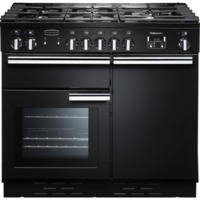 Rangemaster PROP100NGFGBC 111780 Professional Plus 100cm Natural Gas Range Cooker Black