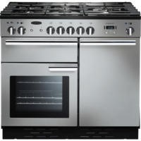 Rangemaster PROP100NGFSSC 111770 Professional Plus 100cm Natural Gas Range Cooker Stainless Steel
