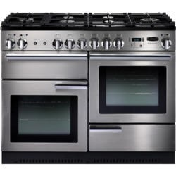 Rangemaster 86860 Professional Plus 110cm Natural Gas Range Cooker - Stainless Steel