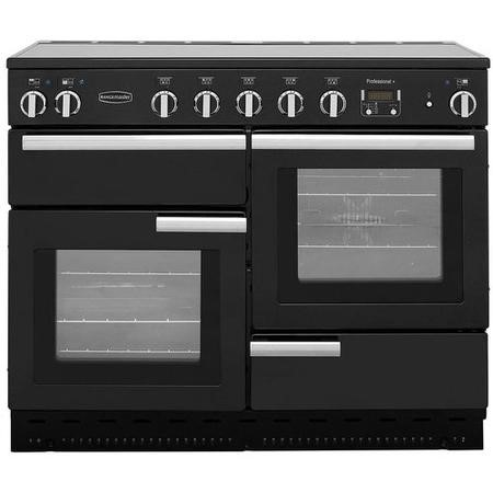 Rangemaster 91780 ProfessionalPlus Black 110cm Electric Range Cooker With Induction Hob