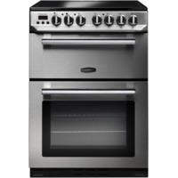 GRADE A3 - Rangemaster 10730 Professional+ 60cm Electric Cooker With Ceramic Hob Stainless Steel And Chrome