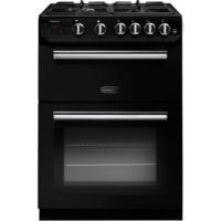 Rangemaster 10727 Professional+ 60cm Gas Cooker Black And Chrome