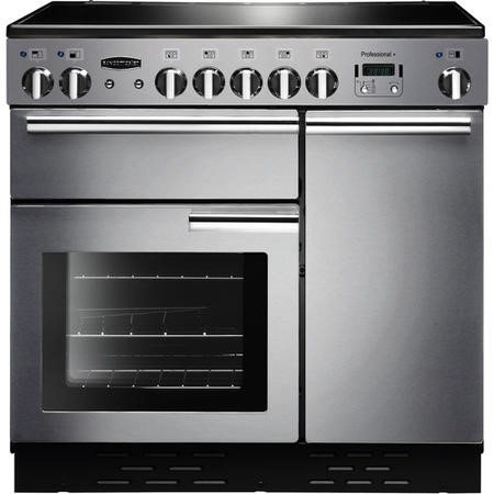 Rangemaster PROP90ECSSC Professional Plus 90cm Electric Range Cooker - Stainless Steel