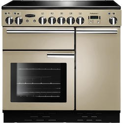 Rangemaster 91720 Professional Plus Cream 90cm Electric Range Cooker With Induction Hob