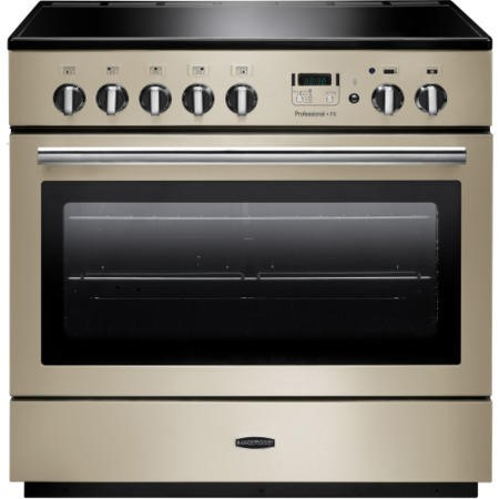 Rangemaster 96320 Professional Plus FX Cream 90cm Electric Range Cooker With Induction Hob