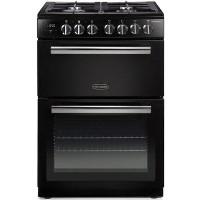Rangemaster Professional Plus 60cm Dual Fuel Cooker - Black