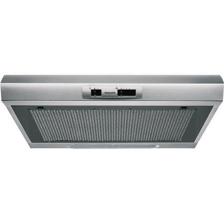 HOTPOINT PSLMO65FLSX 60cm Conventional Cooker Hood - Stainless Steel