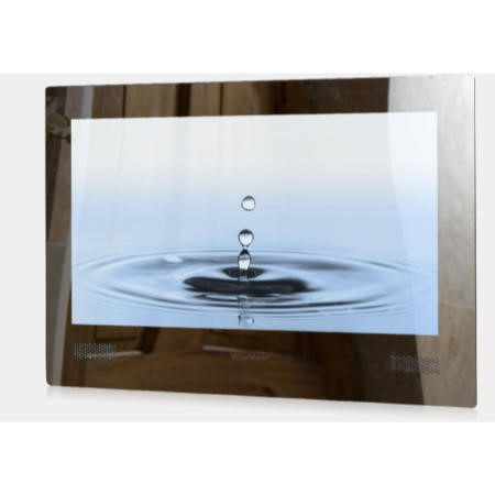 Proofvision 24 Inch HD Ready Bathroom LED TV with a mirror finish