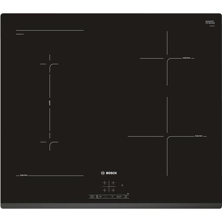 Bosch PWP631BF1B Serie 4 Four Zone Induction Hob - Black