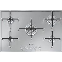 Smeg PX750 Linea 74cm Stainless Steel Ultra Low Profile 5 Burner Gas Hob