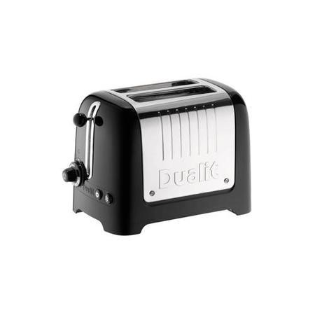 Dualit 26205 2 Slot High Gloss Lite Toaster Black