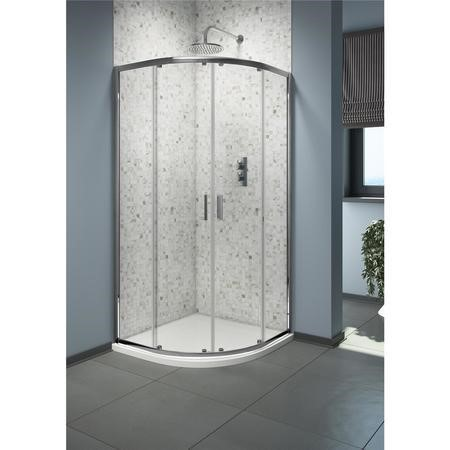 Quadrant Shower Enclosure 900mm x 900mm - 6mm Glass - Claritas Range