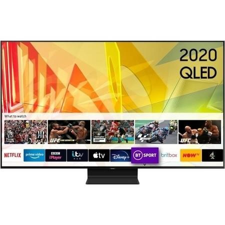 "Samsung QE55Q95TATXXU 55"" 4K Ultra HD HDR Smart QLED TV with Bixby Alexa and Google Assistant"