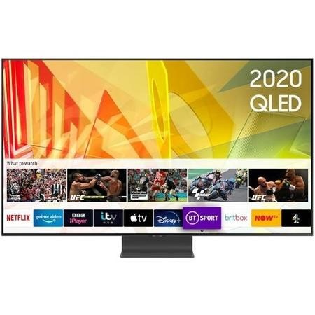 "Samsung QE65Q95TATXXU 65"" 4K Ultra HD HDR Smart QLED TV with Bixby Alexa and Google Assistant"