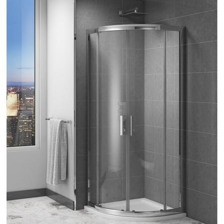 Claritas 6mm Quadrant Shower Screen Enclosure - 800 x 800mm