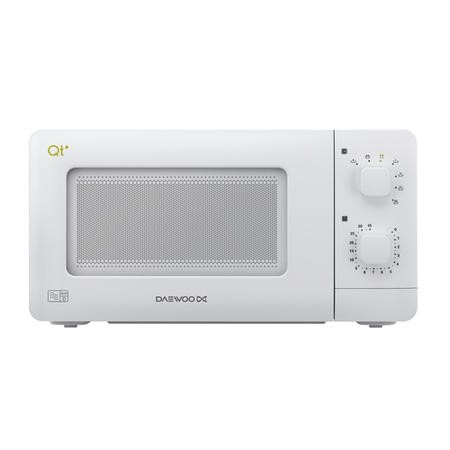 Daewoo QT1 14L 600W Manual Control Microwave - White - Great For Caravans And Motorhomes