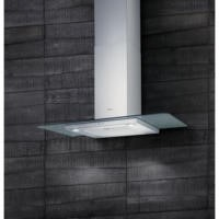 Elica QUARTZ-HE-90 High Efficiency 90cm Chimney Hood Stainless Steel With Flat Glass Canopy