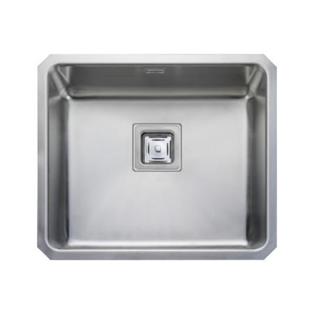 Rangemaster QUB48 Quad Undermount 480x400 1.0 Bowl Reversible Stainless Steel Sink