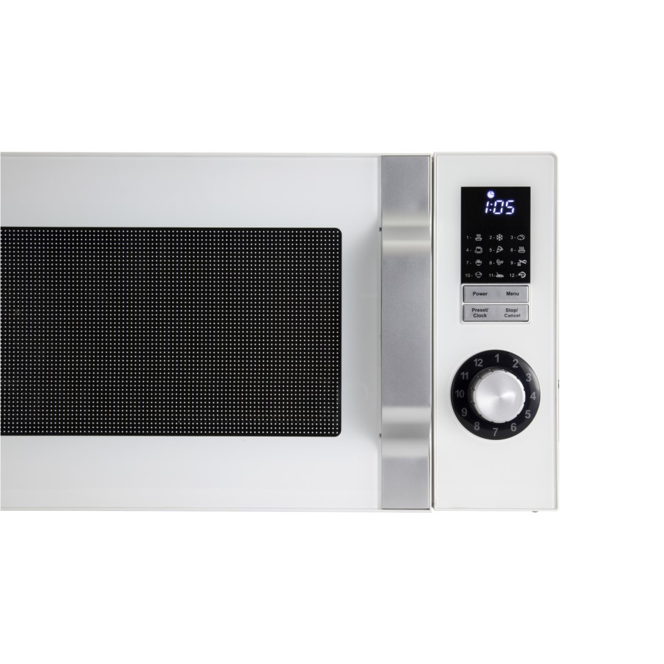 Sharp R244wm 23l 900w Freestanding Microwave In White