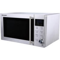 Sharp R28STM 23L 800W Freestanding Microwave Oven - Stainless Steel