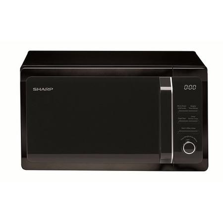 Sharp R664KM 800W 20L Freestanding Microwave Oven With Grill Black