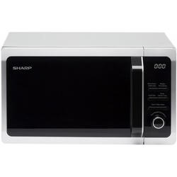 Sharp R664SLM 800W 20L Freestanding Microwave Oven With Grill Silver