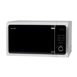 Sharp R764SLM 25L 900W Freestanding Microwave Oven With Grill Silver