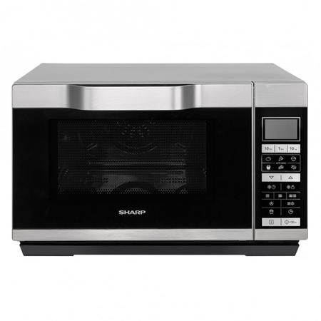 SHARP R861SLM Microwave Oven 25 Litre Capacity Black 900 W 1 Year Warranty