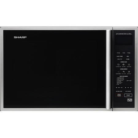 Sharp R959SLMAA 40L Digital Combination Microwave Oven - Silver & Black