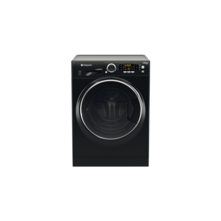 Hotpoint R966JKD 9kg Wash 6kg Dry 1600rpm Freestanding Washer Dryer-Black