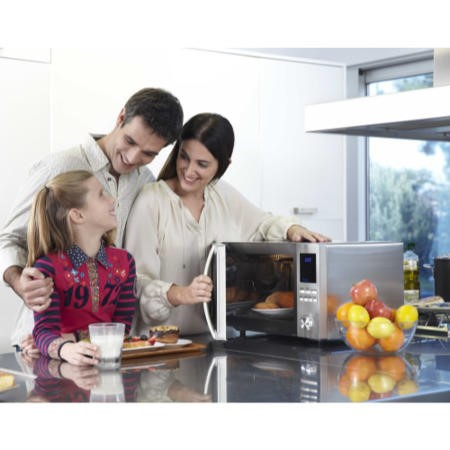 Sharp R982STM 42L 900W Freestanding Combination Microwave in Stainless Steel