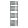 Chrome Vertical Bathroom Flat Towel Radiator - 1600 x 500mm