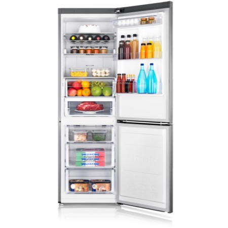 Samsung RB31FERNBSS 531L Freestanding Fridge Freezer - Stainless Steel