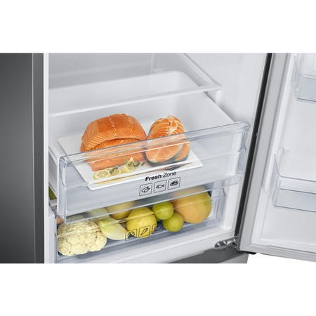 Samsung RB37J5230SA 367L Freestanding Fridge Freezer - Silver