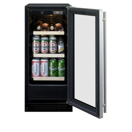 Rangemaster 91460 Slimline 38cm Beverage Centre in Stainless steel