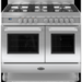 RC-10TG-QL-S Britannia RC-10TG-QL-S Q Line Twin Oven 100cm Dual Fuel Range Cooker - Stainless Steel