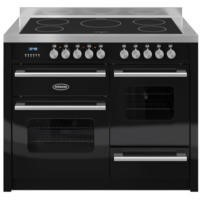 Britannia RC-11XGI-DE-K Delphi XG 110cm Electric Range Cooker With Induction Hob - Gloss Black