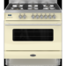 RC-9SG-DE-CR Britannia RC-9SG-DE-CR Delphi Single Oven 90cm Dual Fuel Range Cooker - Gloss Cream