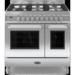 RC-9TG-QL-S Britannia RC-9TG-QL-S Q Line Twin Oven 90cm Dual Fuel Range Cooker - Stainless Steel