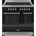 RC-9TI-QL-K Britannia RC-9TI-QL-K Q Line Twin Oven 90cm Electric Range Cooker With Induction Hob - Gloss Black