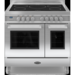 RC-9TI-QL-S Britannia RC-9TI-QL-S Q Line Twin Oven 90cm Electric Range Cooker With Induction Hob - Stainless Steel