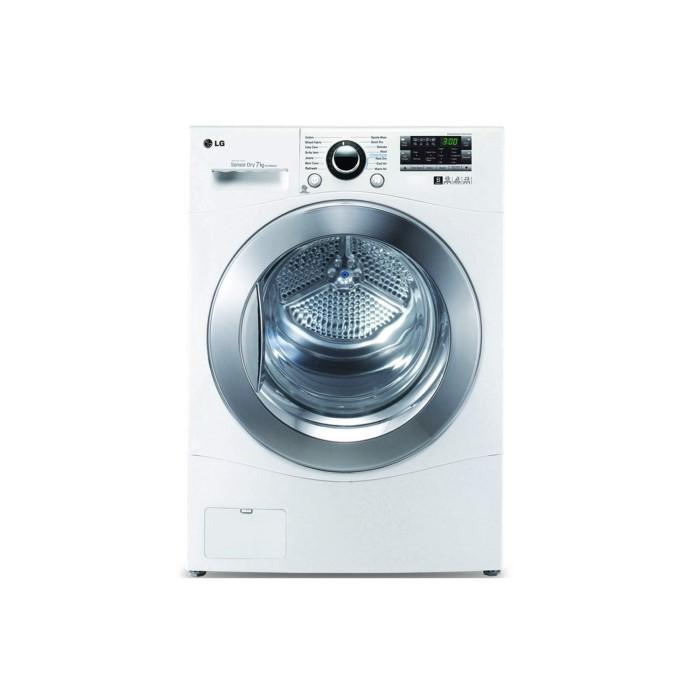 LG RC7066A2Z 7kg Freestanding Condenser Tumble Dryer - White ...