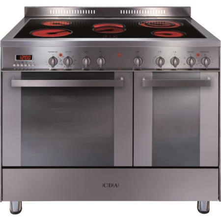 CDA RC9621SS 90cm Wide Double Oven Electric Range Cooker