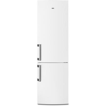 AEG RCB53725VW 201x60cm Custom Flex No Frost 60-40 Freestanding Fridge Freezer - White
