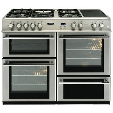 Leisure RCM10FRXP Cuisinemaster 100cm Dual Fuel Range Cooker - Stainless Steel