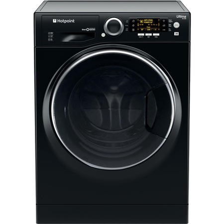 HOTPOINT RD966JKD 9kg Wash 6kg Dry 1600rpm Freestanding Washer Dryer-Black
