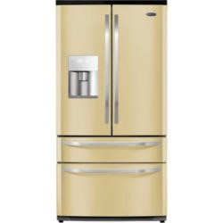 Rangemaster 10814 DXD15 American Fridge Freezer With Water Dispenser Cream