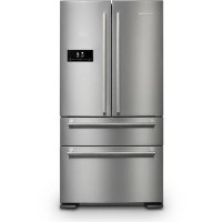 Rangemaster RDXD18SSC DxD American Style Fridge Freezer - Stainless Steel Best Price, Cheapest Prices
